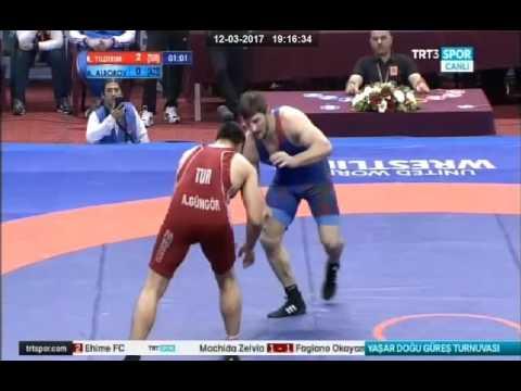 Yaşar Doğu 2017 / Rza Yıldırım (TUR) - Aslanbek Alborov / sərbəst güləş, 97 kq final