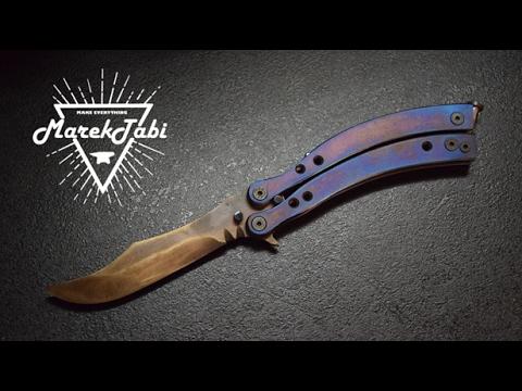 Knife Making -  Butterfly CS:GO