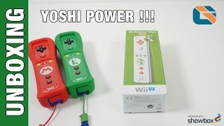 Wii U Remote Plus Controller - Yoshi Edition