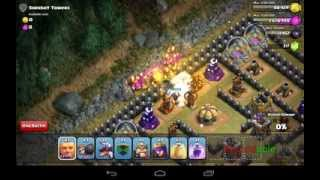 Clash of Clans | How to beat Sherbet Towers (easy)