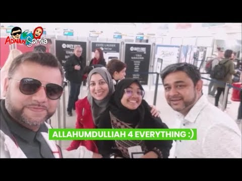 Umrah Part 2 | JFK Airport | Air France Lounge | Terminal 1 | Halal Tourism