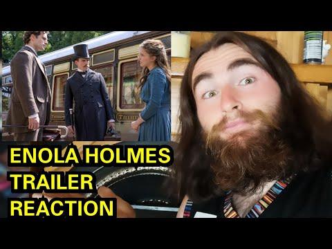 ENOLA HOLMES TRAILER REACTION