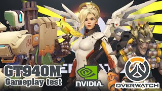 Test Nvidia GT 940M 4GB Acer Aspire E5-573G - OverWatch Season 1