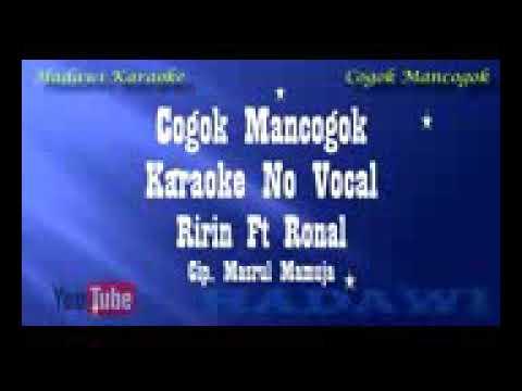 Lagu karaoke  judul cogok mancogok