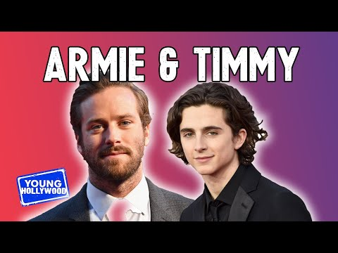 Armie Hammer on His Instagram Photos with Timothée Chalamet!