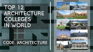 Top architecture colleges in world