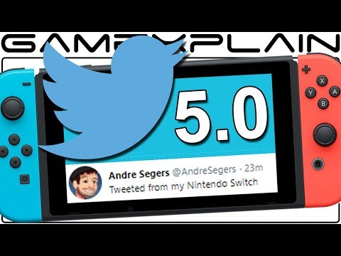 Nintendo Switch 5.0 Exploit Lets You Access Twitter & Facebook Feeds