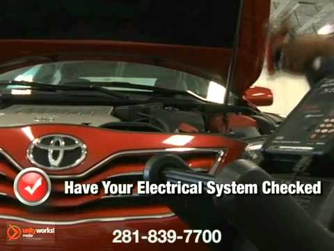 Toyota Electrical System Wiring Repair Service Baytown Crosby TX