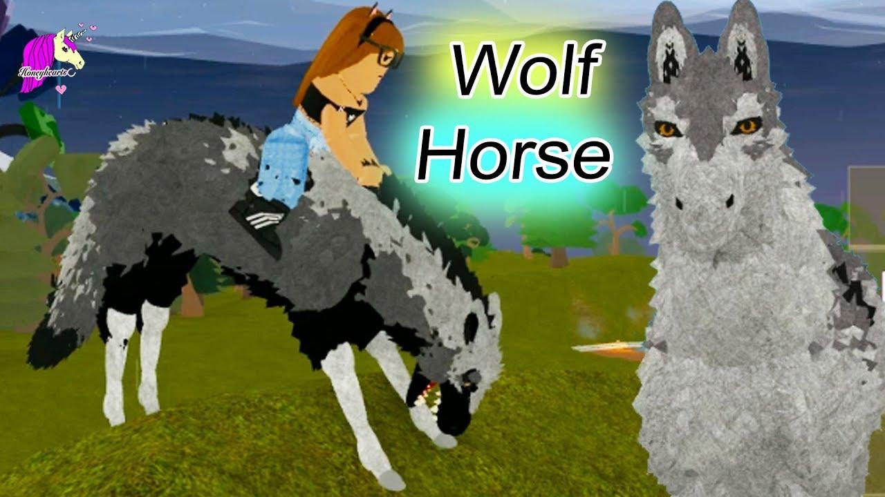 Wolf Horse ! Horse World New Horses ! Honey Hearts C Let's Play Roblox