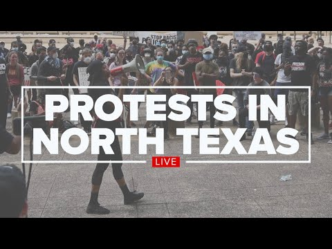 WATCH: Protests and demonstrations continue in North Texas