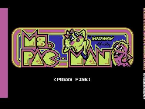 Ms PACMAN Encore ARCADE version !!! ATARI 800 XL
