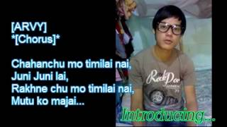 Nepali rap songs - Chahanchu Timilai by NEPZCITIZEN /Nephop 2012/with Lyrics on the Screens/download