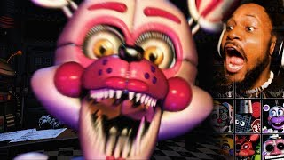 - EVERY ANIMATRONIC EVER. we re gonna die.. FNAF Ultimate Custom Night 1