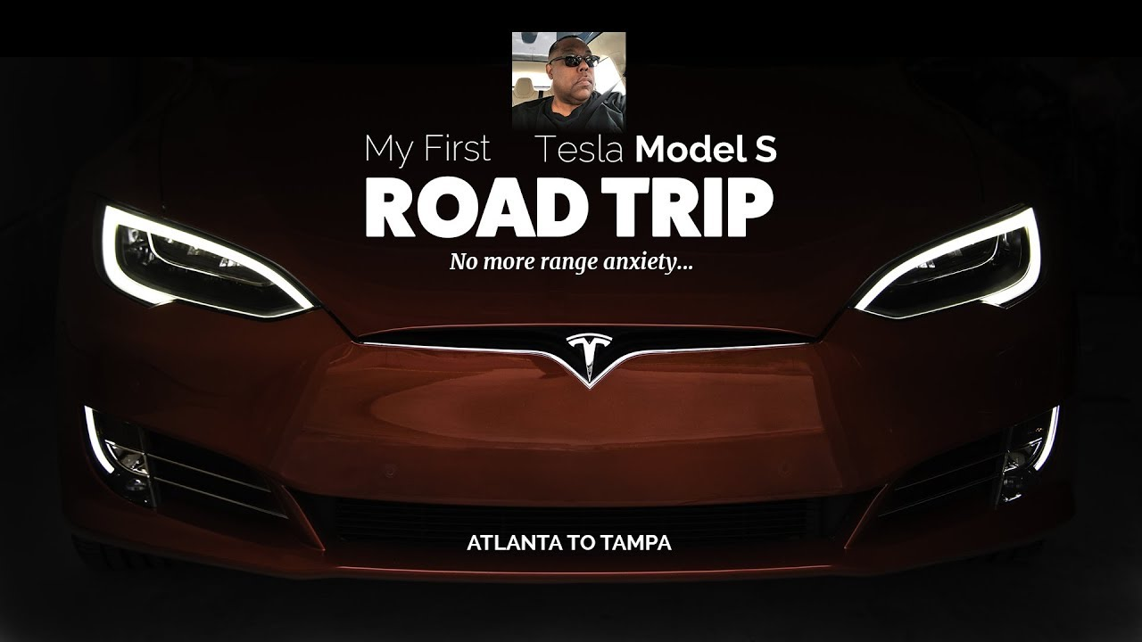 My 1st Tesla Model S Road Trip - No more range anxiety