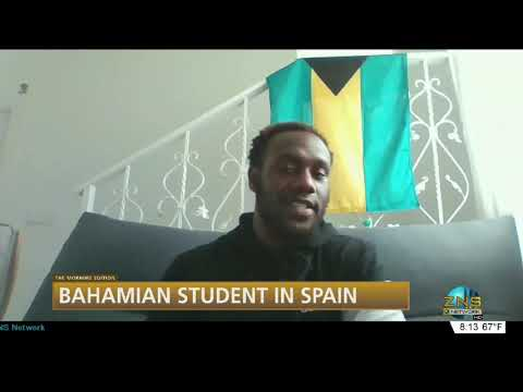 Bahamian Student In Spain