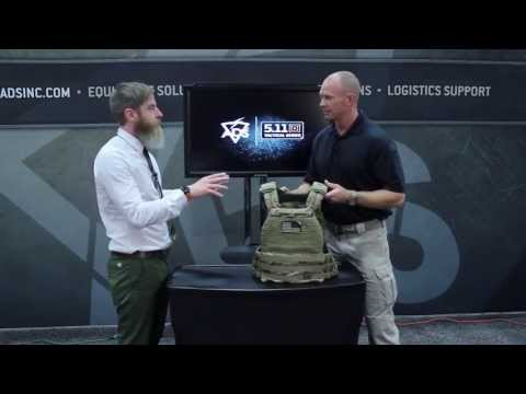 5.11 TacTec Plate Carrier | ADS TV | Warrior Expo West 2013
