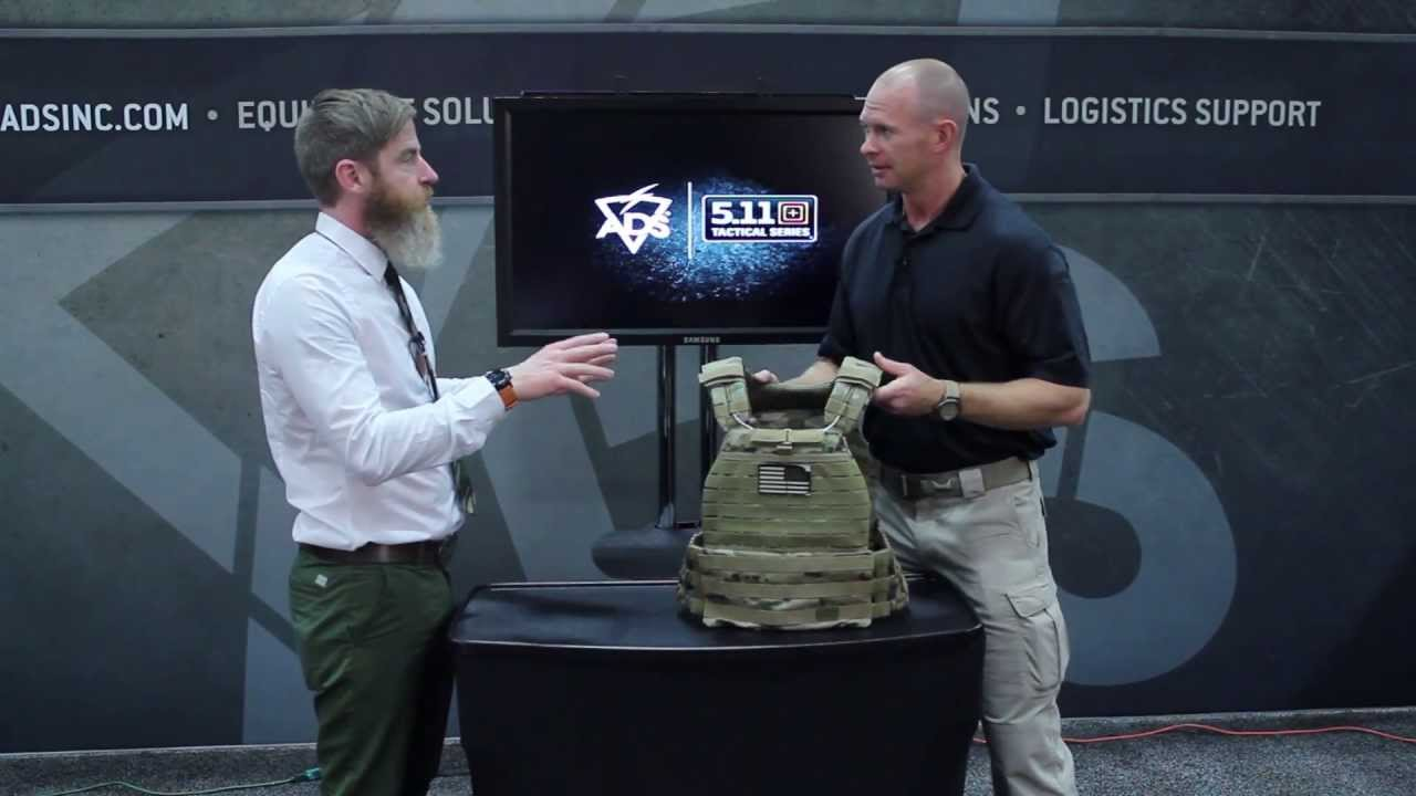 5 11 Tactec Plate Carrier Ads Tv Warrior Expo West