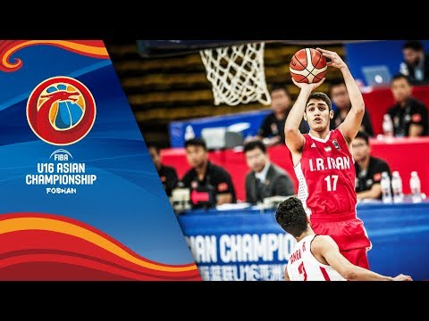 Lebanon v Iran - Full Game - Class 7-8 - FIBA U16 Asian Championship