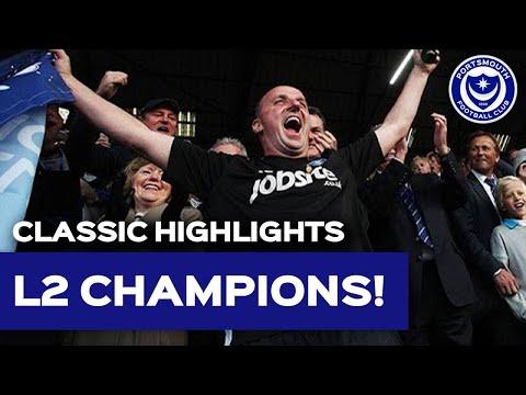 Highlights: Portsmouth 6-1 Cheltenham Town