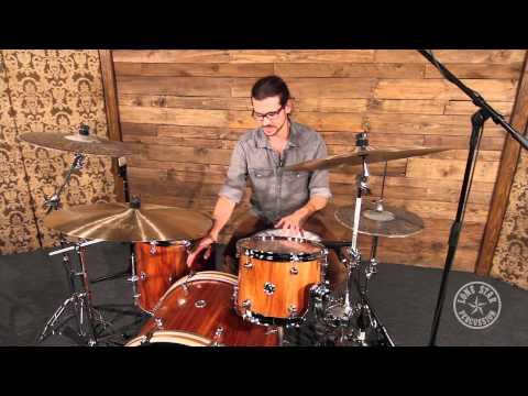 Red Rock Drums Australia Tasmanian Blackwood Drum Set
