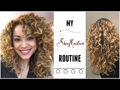 My SheaMoisture Routine