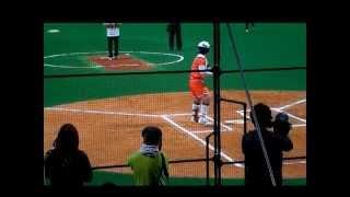 日本女子ソフトボール1部リーグ開幕節 始球式 トヨタ自動車vsルネサスエ...
