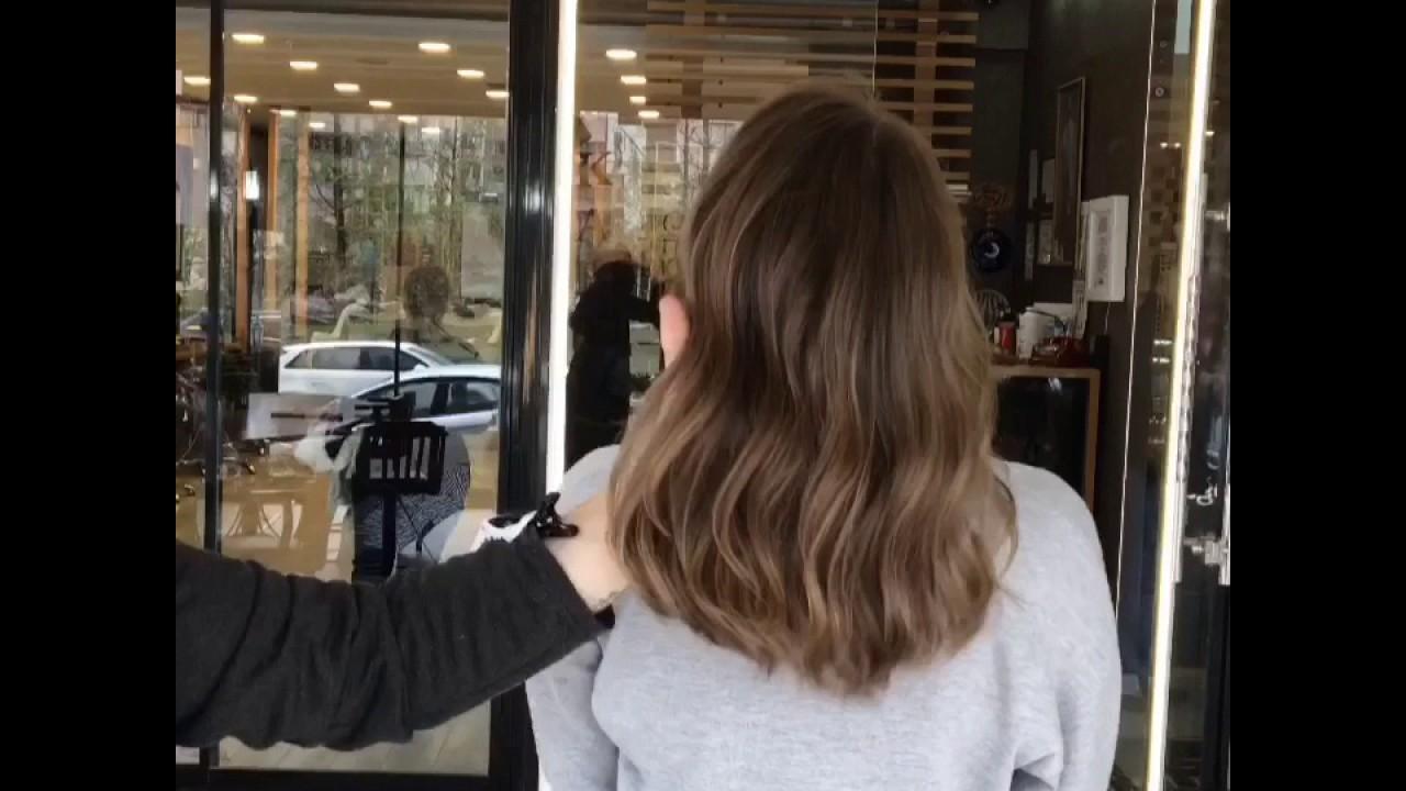 Doğal Saç Uzerine Doğal ışıltı Uygulaması Youtube