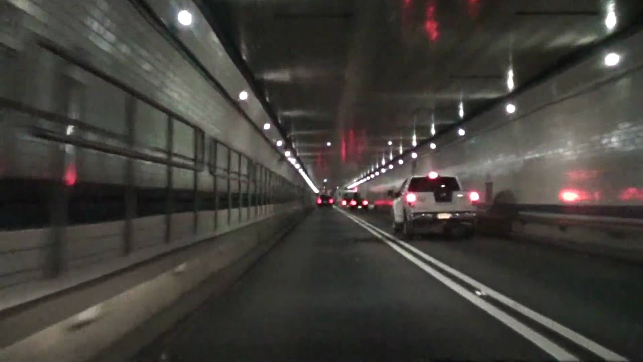 Lincoln Tunnel From New Jersey To New York Youtube