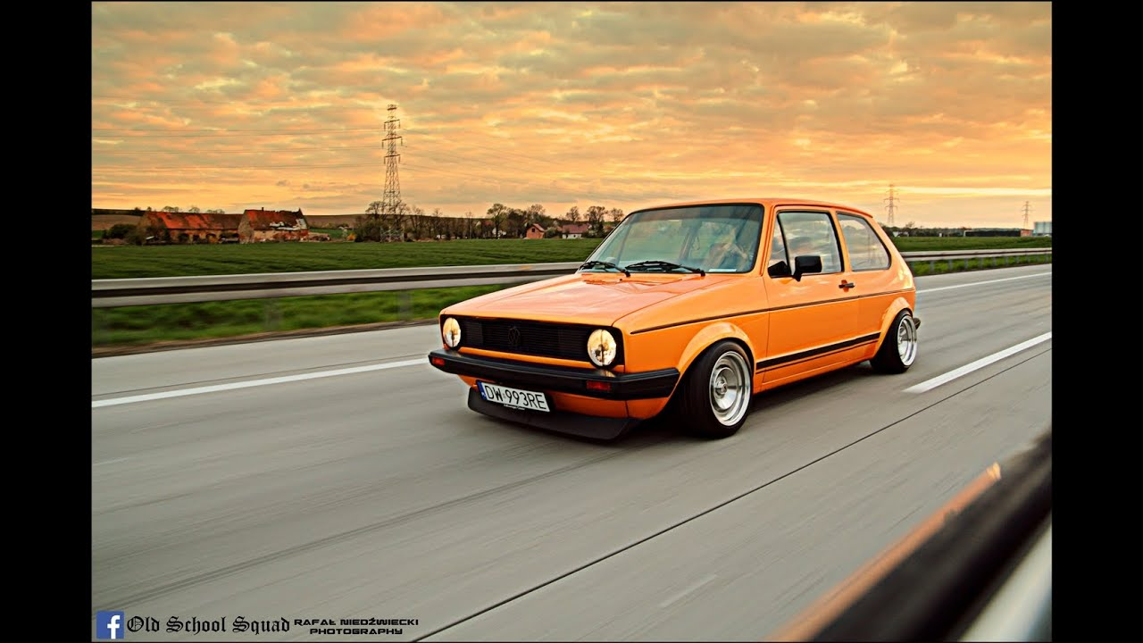 Vw Golf Mk1 Gtd Quot Mandaryna Quot By Old School Squad Youtube