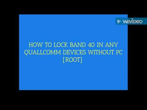 How to Lock/Unlock LTE Bands in Any Qualcomm devices