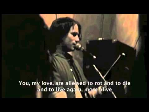 Jeff Buckley New Year\'s Eve Prayer poem (Sin-e) - subs - YouTube