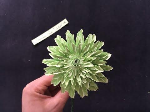 How to make a Daisy paper flower - HMC Art