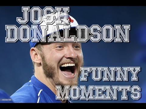 """PART 1   Josh Donaldson - Funny Moments  from the """"Bringer of Rain"""""""
