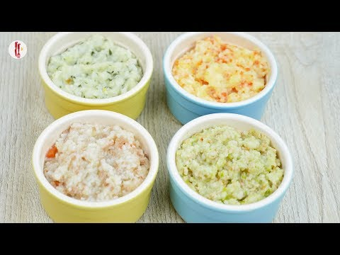 4 Meal Ideas For Toddlers With Rice (khichdi) By Food Fusion Kids