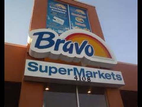 A SMALL GROCERY SHOPPING TRIP AT BRAVO SUPERMARKET