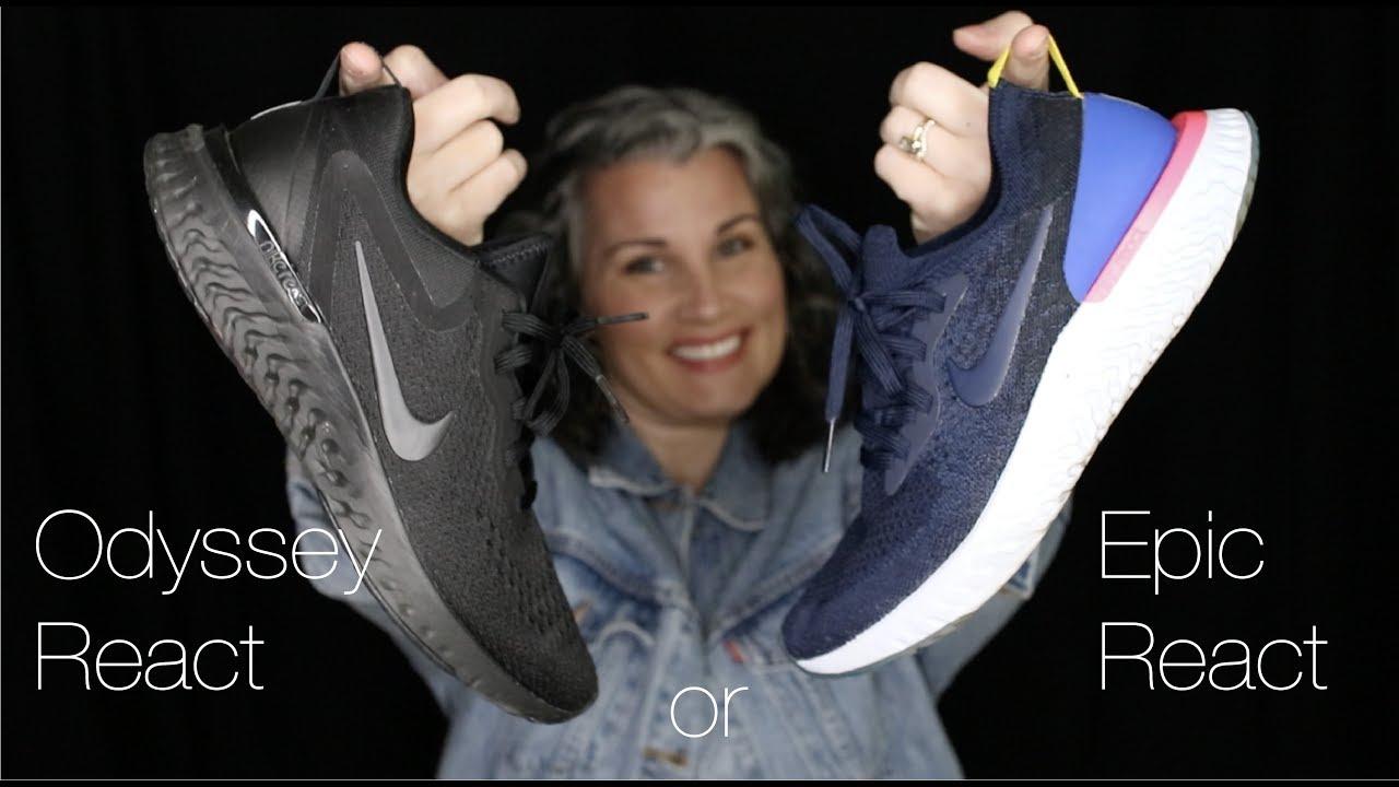 Epic React vs. Odyssey React - Sneaker