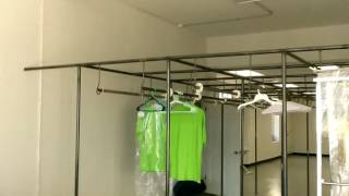 Dry clean drop off store