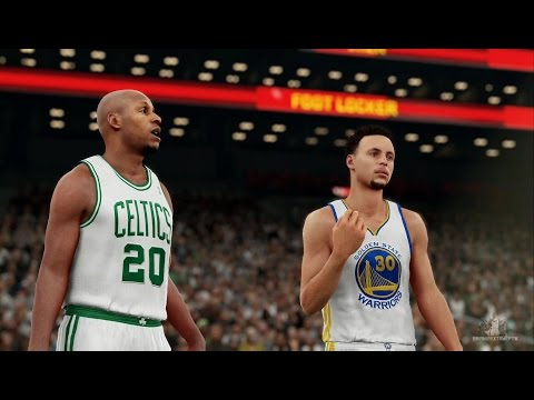 NBA 2K16 - Stephen Curry vs Ray Allen EPIC...