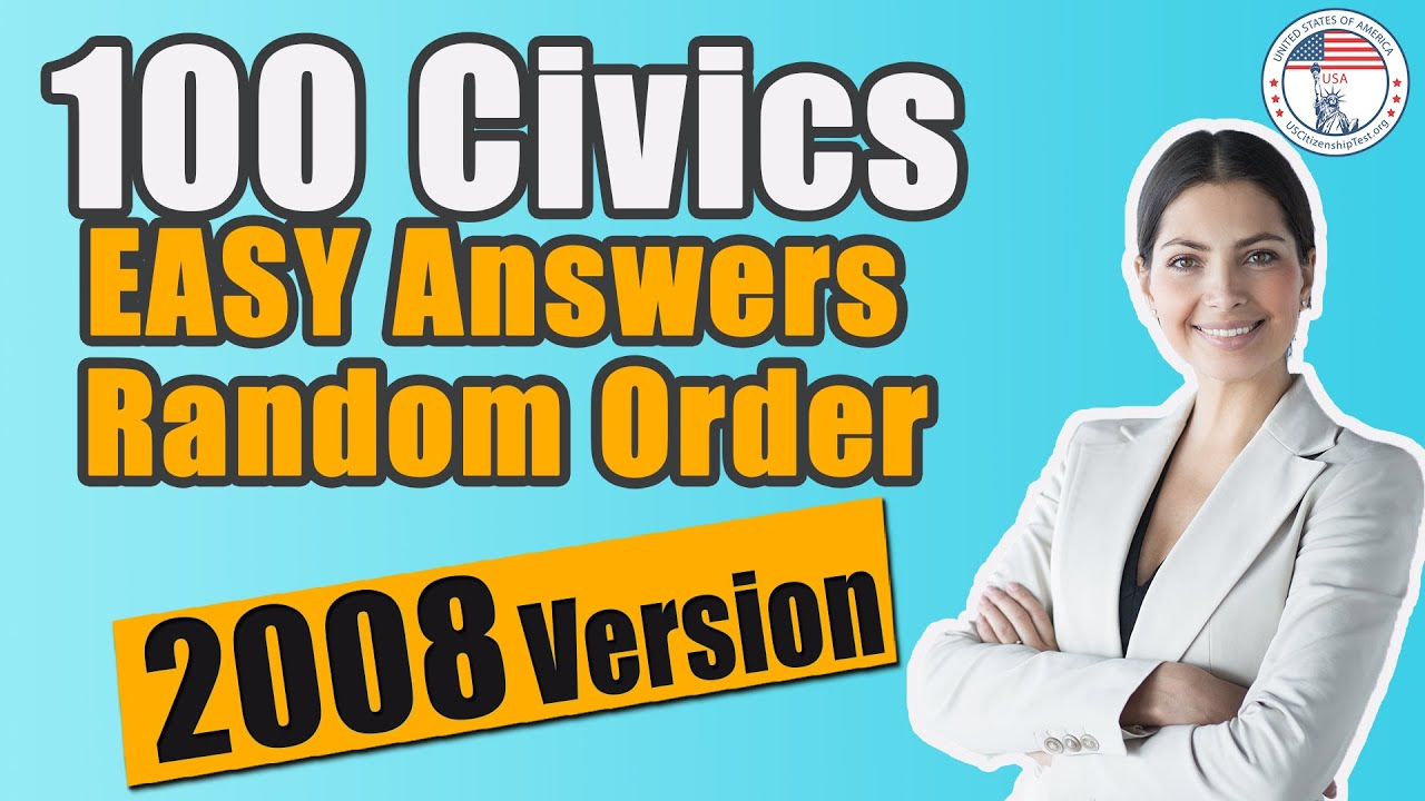 2020 Official US Citizenship Test Questions & Answers ...