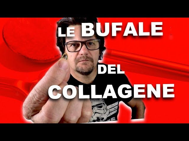 La bufala degli integratori al collagene.
