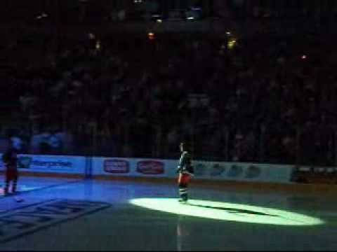 2009-2010 Columbus Blue Jackets Starting Lineup - YouTube