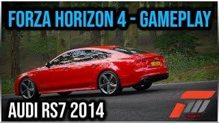 Forza Horizon 4 PC - AUDI RS7 4.0 V8 2014 | #2 Test Drive - Snow | 1080p & 60 FPS