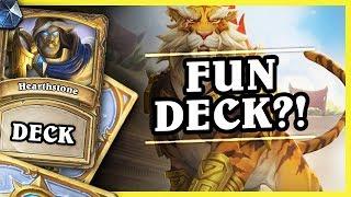 FUN DECK?! - OTK SHIRVALLAH PALADIN - Hearthstone Deck (Rastakhan's Rumble)