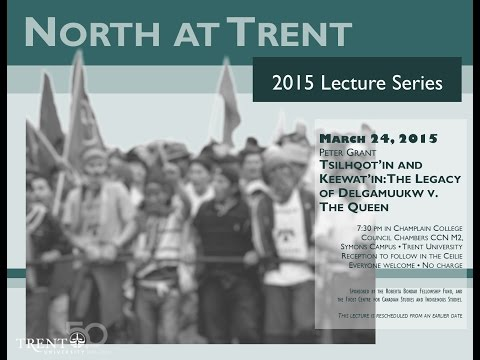 North at Trent 2015 Lecture Series with Peter Grant