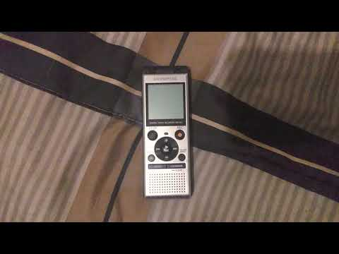 The Olympus Digital Voice Recorder WS-852 Audio + Test by Gadgets Channel