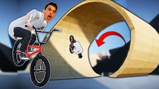 I BMX'D THE CRAZIEST SKATEPARK! (PIPE)