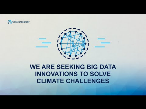 World Bank Big Data Innovation Challenge for Climate Resilience