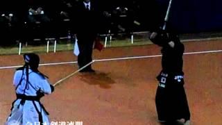 15th World Kendo Championships 2012. Novara, Italy. 決勝戦 日本 対 ...