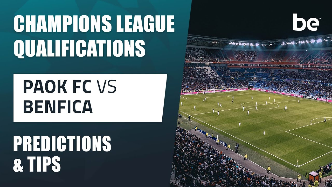 Paok benfica betting tips best website to bet on nfl games
