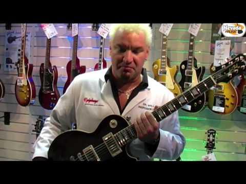 Dr Epiphone introduces the Epiphone Les Paul Tribute Models - Nevada Music UK